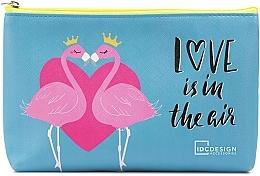 Духи, Парфюмерия, косметика Косметичка с принтом, голубая - IDC Design Accessories Cosmetig Bag