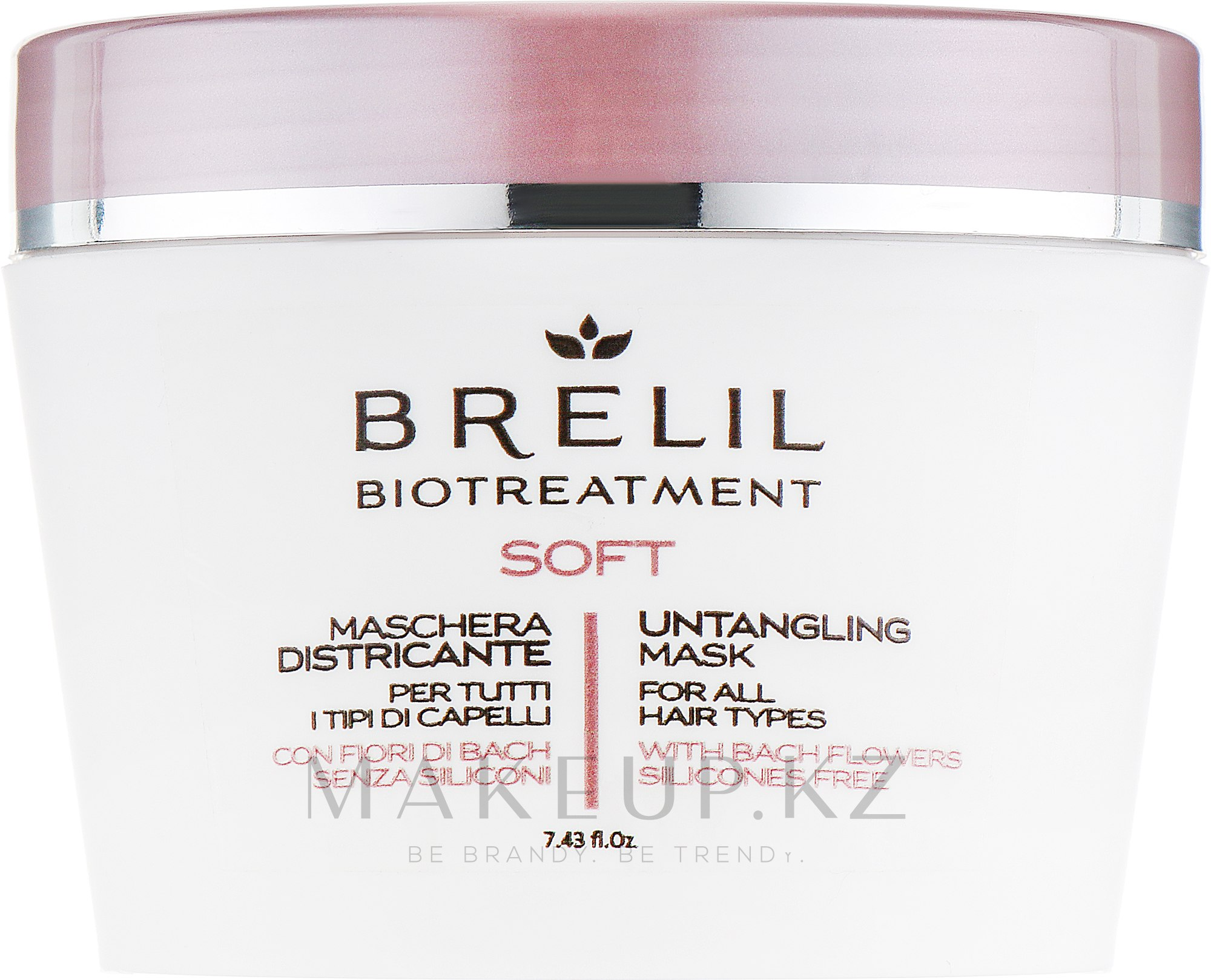 Маска для непослушных волос - Brelil Bio Treatment Soft Untangling Mask — фото 220 ml