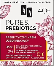 Духи, Парфюмерия, косметика Укрепляющий крем для лица 40+ - AA Pure & Prebiotics