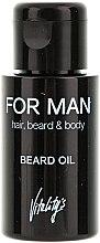 Духи, Парфюмерия, косметика Масло для бороды - Vitality's For Man Beard Oil