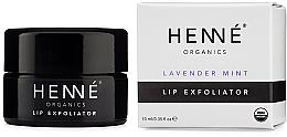 Духи, Парфюмерия, косметика Эксфолиатор для губ - Henne Organics Lavender Mint Lip Exfoliator