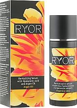 Духи, Парфюмерия, косметика Восстанавливающая сыворотка с гиалуроновой кислотой и аргановым маслом - Ryor Revitalizing Serum With Hyaluronic Acid And Argan Oil