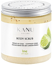 "Духи, Парфюмерия, косметика Скраб для тела ""Лайм"" - Kanu Nature Lime Body Scrub"
