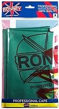 Духи, Парфюмерия, косметика Пеньюар парикмахерский, водонепроницаемый, зеленый - Ronney Professional Waterproof Hairdressing Cape