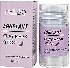 """Духи, Парфюмерия, косметика Маска-стик для лица """"Eggplant"""" - Melao Eggplant Clay Mask Stick"""