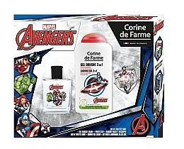 Духи, Парфюмерия, косметика Marvel The Avengers - Набор (edt/50ml + sh/gel/250ml)