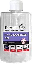 Духи, Парфюмерия, косметика Антибактериальный дезинфицирующий гель для рук с лавандой - Dr. Sante Antibacterial Hand Sanitizer Gel With Lavender
