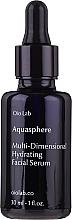 Духи, Парфюмерия, косметика Увлажняющая сыворотка для лица - Oio Lab Aquasphere Face Serum