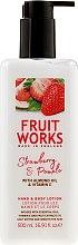 Духи, Парфюмерия, косметика Лосьон для рук и тела - Grace Cole Fruit Works Hand & Body Lotion Strawberry & Pomelo