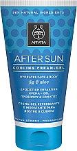 Духи, Парфюмерия, косметика Охлаждающий и увлажняющий крем-гель для лица и тела с инжиром и алоэ - Apivita Sunbody After Sun Cooling Cream-Gel