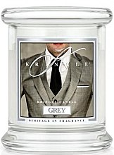 Духи, Парфюмерия, косметика Ароматическая свеча в стакане - Kringle Candle Grey