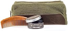 Духи, Парфюмерия, косметика Набор - Apothecary 87 Dopp Bag Hair Kit (pomade/100g + comb + pouch)