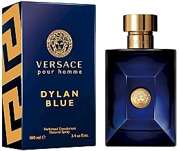 Духи, Парфюмерия, косметика Versace Pour Homme Dylan Blue - Дезодорант спрей