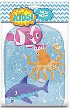 Духи, Парфюмерия, косметика Мочалка-варежка - Kids Wash Mitt Aquatic Print