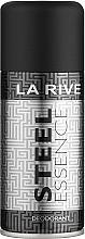 Духи, Парфюмерия, косметика La Rive Steel Essence - Дезодорант-спрей