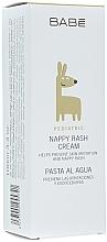 Духи, Парфюмерия, косметика Крем под подгузник увлажняющий и защитный детский - Babe Laboratorios Nappy Rash Cream