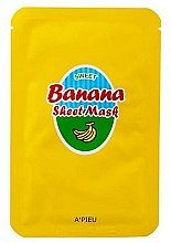 Духи, Парфюмерия, косметика Питательная маска с экстрактом банана и меда - A'Pieu Sweet Banana Sheet Mask