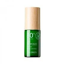 Духи, Парфюмерия, косметика Увлажняющая эссенция для лица с соком алоэ вера - The Saem Jeju Fresh Aloe Essence