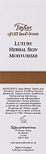 Увлажняющий крем для лица и тела - Taylor of Old Bond Street Herbal Skin Moisturiser — фото N3