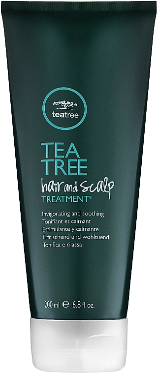 Лечебный скраб на основе экстракта чайного дерева - Paul Mitchell Tea Tree Hair & Scalp Treatment — фото N1
