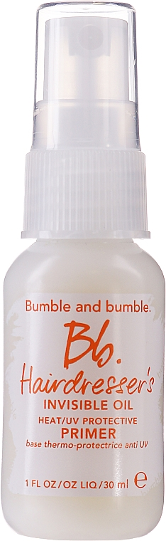 Масло для волос - Bumble and Bumble Hairdresser's Invisible Oil Primer Travel Size — фото N1