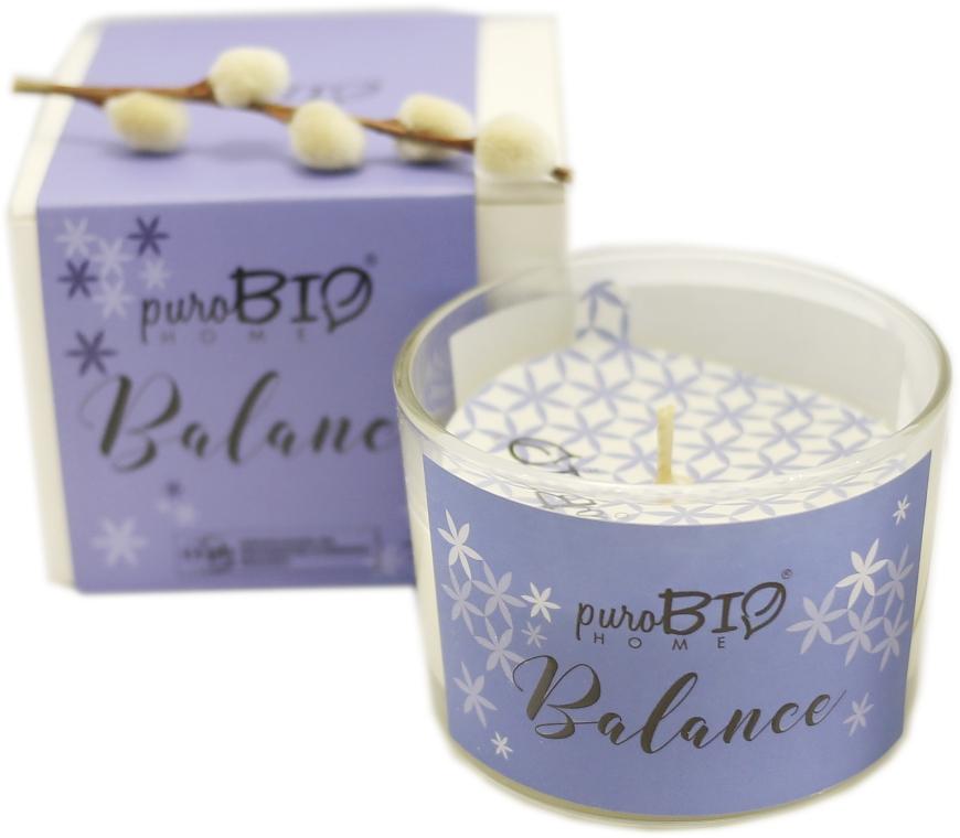 Органическая свеча - PuroBio Home Organic Balance — фото N2