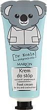 Духи, Парфюмерия, косметика Крем для ног - Marion Dr Koala Foot Cream