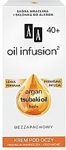 Духи, Парфюмерия, косметика Питательный крем для глаз от морщин - AA Oil Infusion Nourishing Eye Cream For Wrinkles