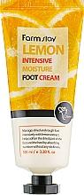 Духи, Парфюмерия, косметика Крем для ног с экстрактом лимона - FarmStay Lemon Intensive Moisture Foot Cream