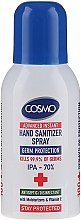 Дезинфицирующий спрей для рук - Cosmo Advanced Instant Hand Sanitizer Spray — фото N1