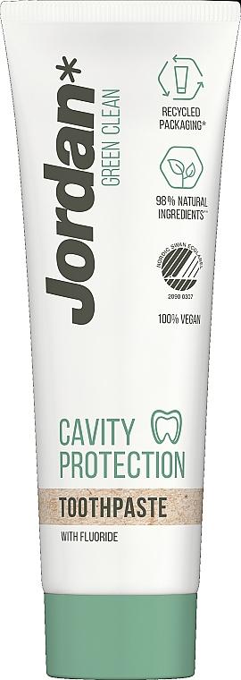 Зубная паста - Jordan Green Clean Cavity Protect — фото N1