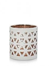 Духи, Парфюмерия, косметика Керамическая аромалампа - Yankee Candle Belmont White Ceramic Tea Light Votive