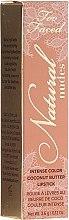 Духи, Парфюмерия, косметика Кремовая помада для губ - Too Faced Natural Nudes Lipstick