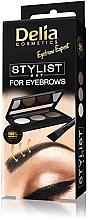 Духи, Парфюмерия, косметика Набор для стилизации бровей - Delia Cosmetics Eyebrow Expert Stylist Set