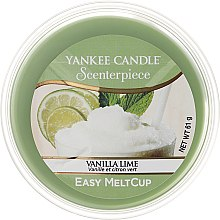 Духи, Парфюмерия, косметика Ароматический воск - Yankee Candle Vanilla Lime Melt Cup