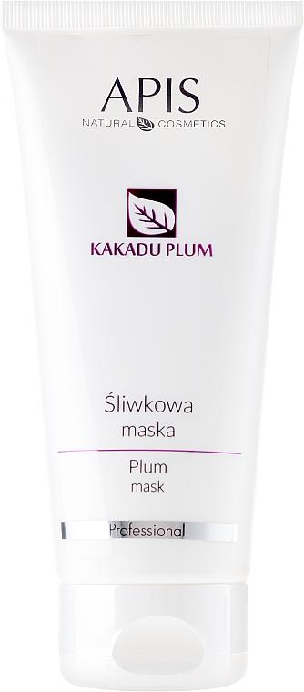 Маска для лица c экстрактом слывы - APIS Professional Kakadu Plum Cream (туба) — фото N1