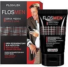 Духи, Парфюмерия, косметика Восстанавливающий крем против морщин для мужчин - Floslek Flosmen Revitalizing Anti-Wrinkle Cream For Men