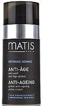 Духи, Парфюмерия, косметика Активный антивозрастной крем - Matis Reponse Homme Global Anti-Aging active cream