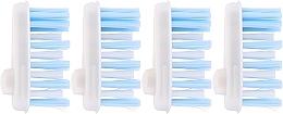 Духи, Парфюмерия, косметика Сменные головки зубной щетки мягкие - Yaweco Toothbrush Heads Nylon Soft