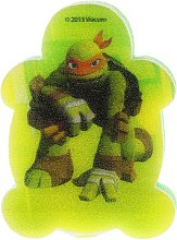 """Духи, Парфюмерия, косметика Мочалка банная детская """"Черепашки Ниндзя"""" Микеланджело 2 - Suavipiel Turtles Bath Sponge"""