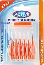 Духи, Парфюмерия, косметика Межзубные щетки, 0,45мм, оранжевые - Beauty Formulas Active Oral Care Interdental Brushes