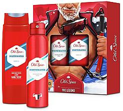 Духи, Парфюмерия, косметика Набор - Old Spice Whitewater Alpinist (deo/sprey/150ml+sh/gel/250ml)
