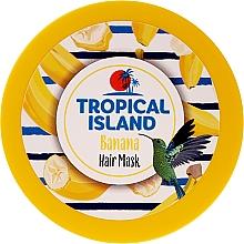 """Духи, Парфюмерия, косметика Маска для волос """"Банан"""" - Marion Tropical Island Banana Hair Mask"""