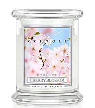 Духи, Парфюмерия, косметика Ароматическая свеча в банке - Kringle Candle Cherry Blossom
