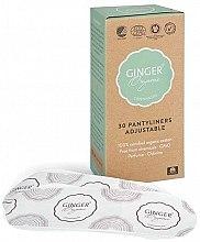 Духи, Парфюмерия, косметика Ежедневные эластичные прокладки, 30 шт - Ginger Organic