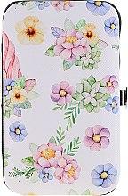 Духи, Парфюмерия, косметика Маникюрный набор 2429, белый с цветами - Donegal Manicure Set