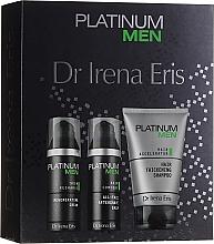 Духи, Парфюмерия, косметика Набор - Dr. Irena Eris Platinum Men (shm/125ml + ash/balm/50ml + cr/50ml)