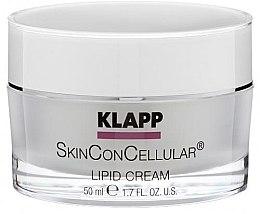 Духи, Парфюмерия, косметика Питательный крем для лица - Klapp Skin Con Cellular Lipid Cream