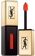 Духи, Парфюмерия, косметика Лак для губ - Yves Saint Laurent Rouge Pur Couture Vernis a Levres Glossy Stain (Limited Edition)