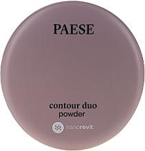 Духи, Парфюмерия, косметика Двойная пудра для контуринга - Paese Contour Duo Powder